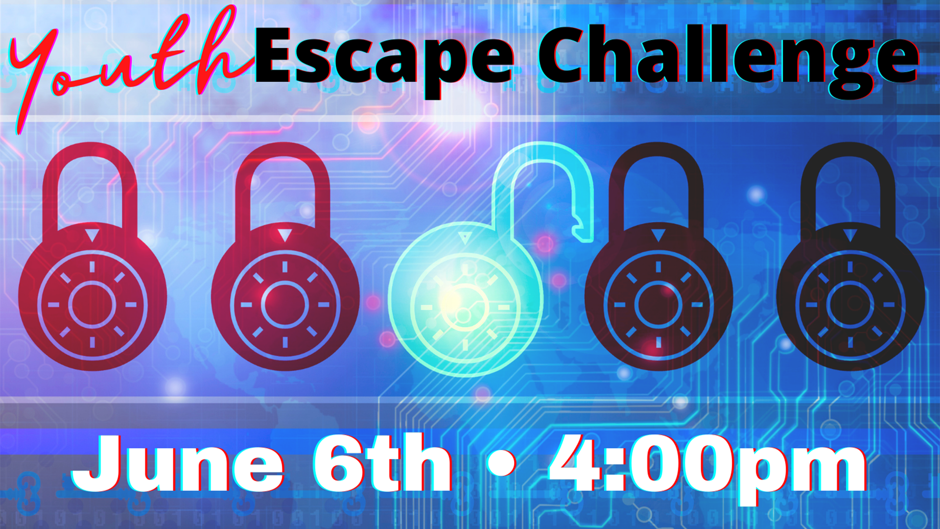 Youth Escape Challenge